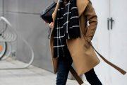 10 outfits coquetos con abrigos largos color beige para el Invierno 2015-16