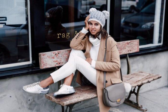 abrigos beige moda