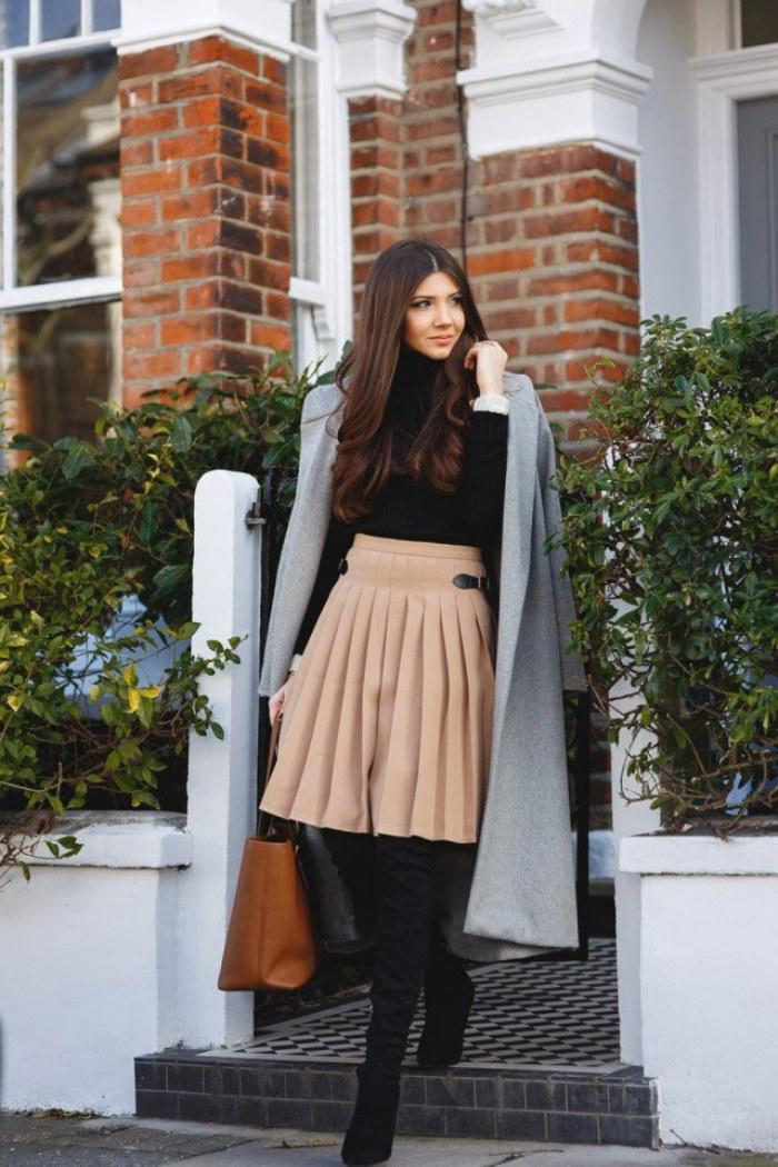 Outfits A La Moda Para Ir A Tu Oficina Y Mantenerte Abrigada En Este Invierno 2015-16 | AquiModa ...