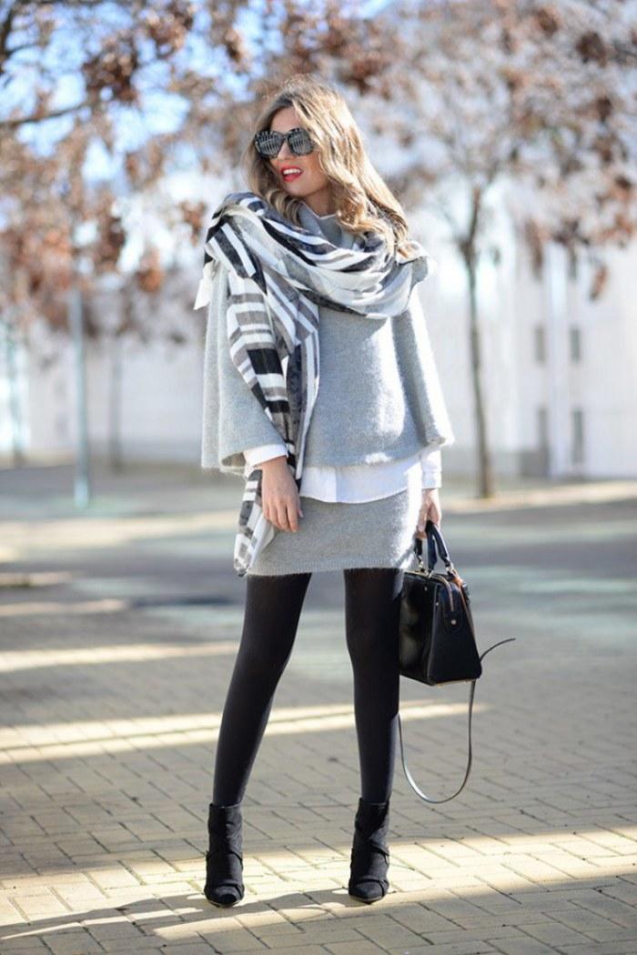 Outfits con estilo y elegancia para usar en este Invierno 2015-16 | AquiModa.com vestidos de ...