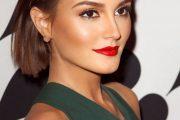 El color de labios rojos es la última moda del 2016