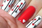 10 Hermosos diseños para uñas con corazones de San Valentín