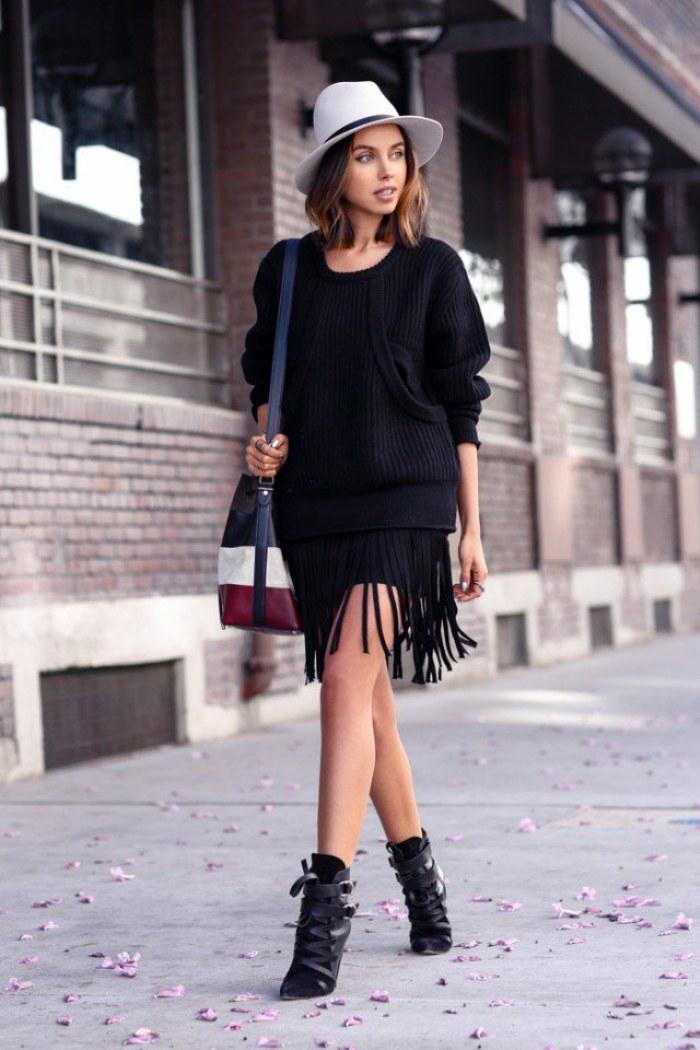 faldas moda invierno