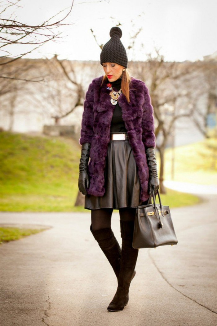 moda color purpura