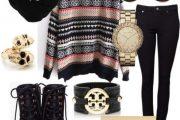 Más encantadoras combinaciones de Outfits con abrigos bordados por Polyvore