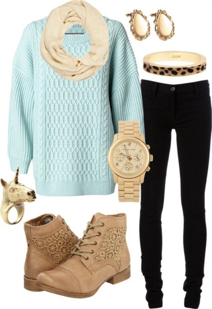 outfits polyvore invierno