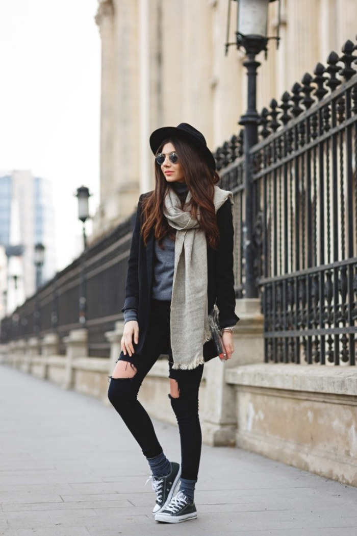 sneakers moda outfits