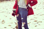 10 Maneras coquetas de vestir chaquetas Parka para el Invierno 2015-16