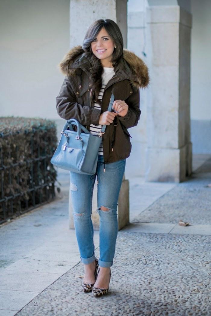 chaqueta parka moda