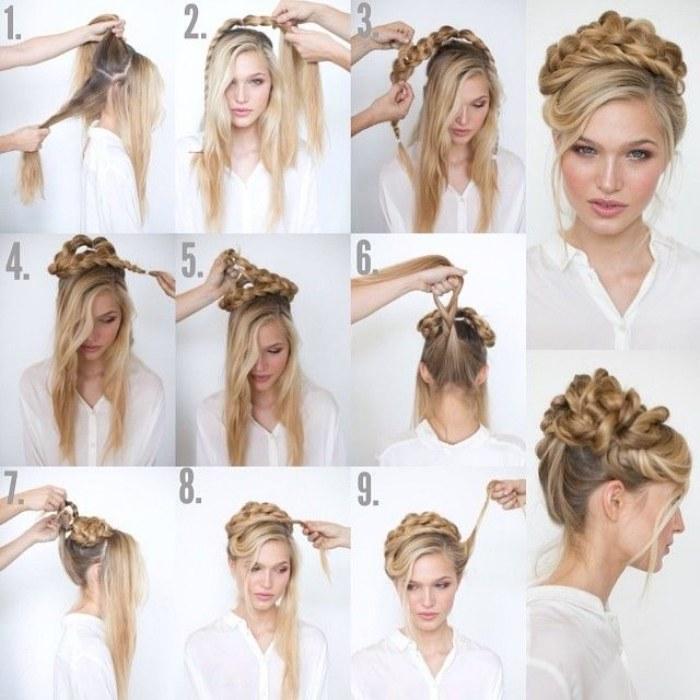10 tutoriales paso a paso de peinados f ciles y r pidos - Como hacer peinados faciles y rapidos paso a paso ...