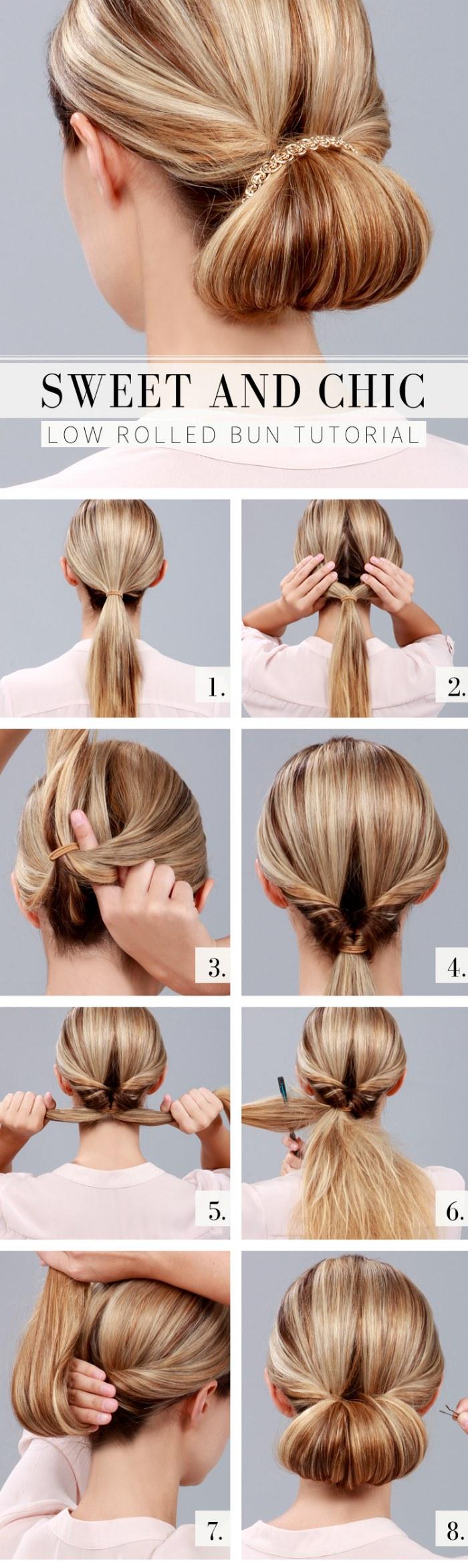 10 tutoriales paso a paso de peinados f ciles y r pidos - Peinados faciles y rapidos paso a paso ...