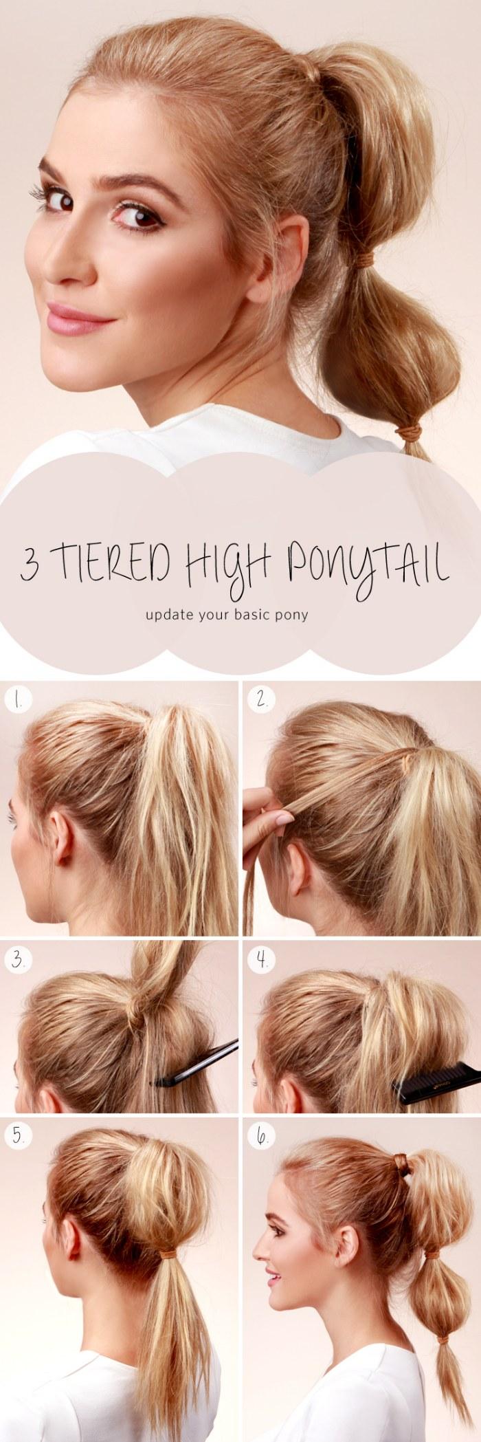 Bonito y sencillo peinados faciles y rapidos paso a paso Fotos de ideas de color de pelo - 10 tutoriales paso a paso de peinados fáciles y rápidos ...