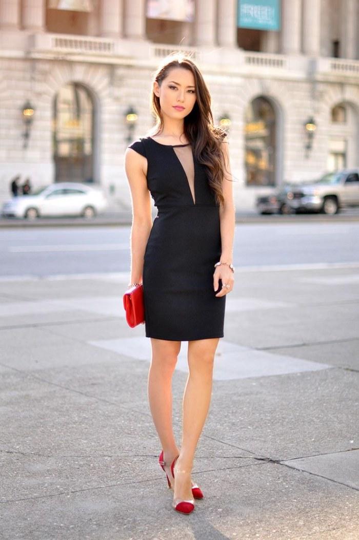Outfits Con Vestidos Color Negro Para Este San Valentu00edn 2016 | AquiModa.com Vestidos De Boda ...
