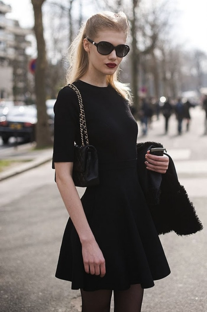 vestidos negros moda