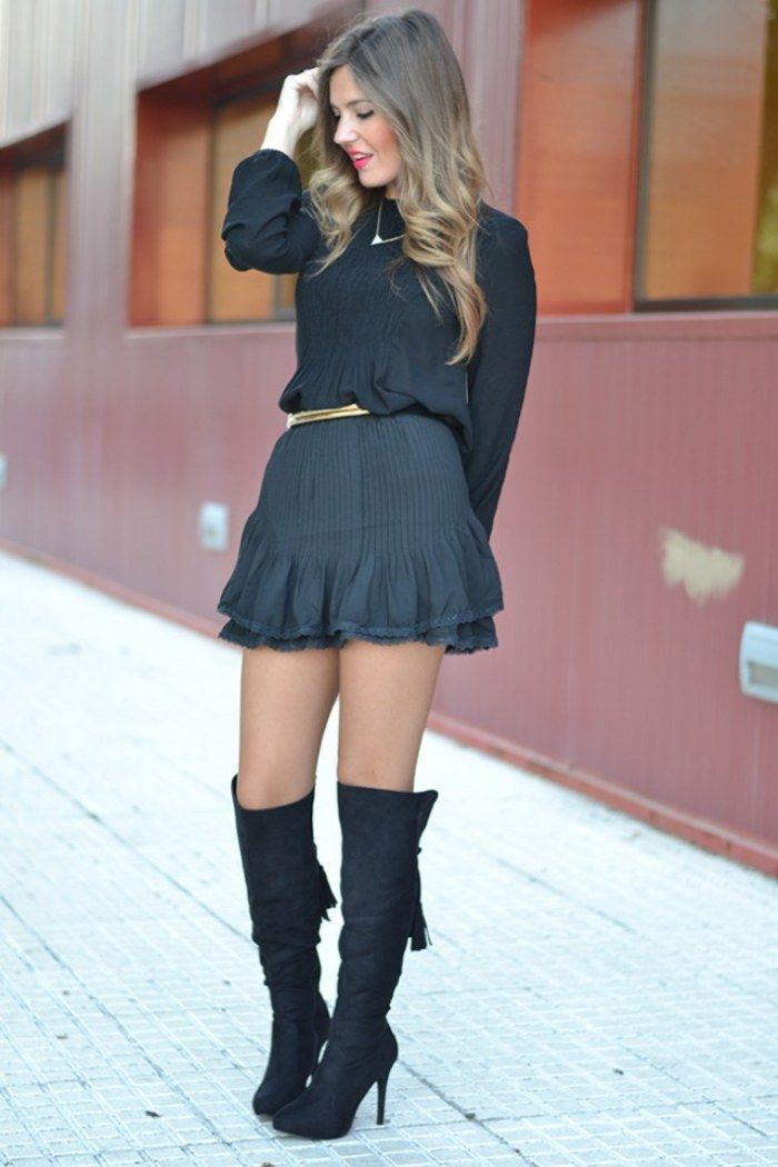 vestir de negro