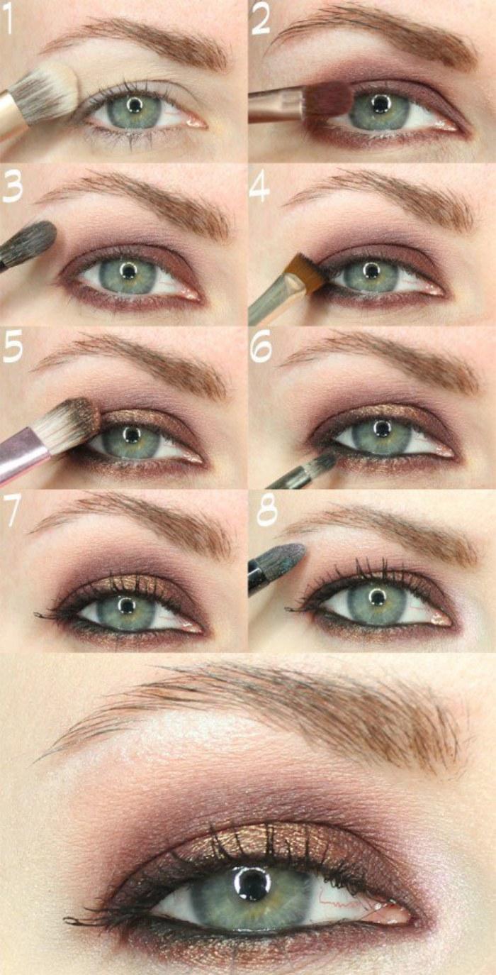 Ideas Y Consejos De Maquillaje Suave Para Ojos Para Ir A