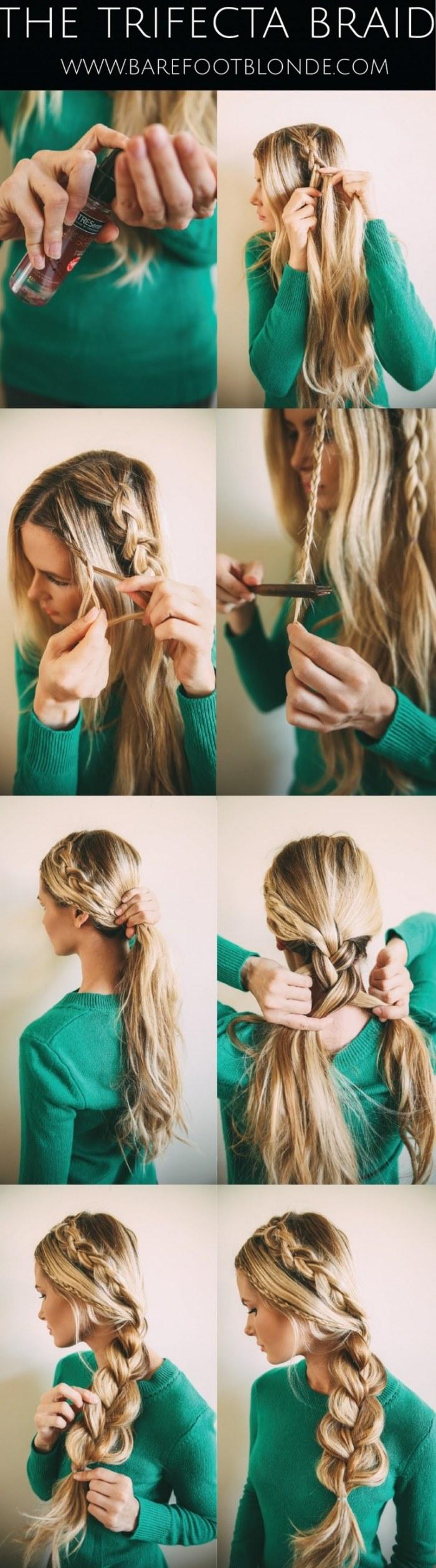 Tutoriales de peinados paso a paso r pidos y f ciles para - Peinados faciles y rapidos paso a paso ...