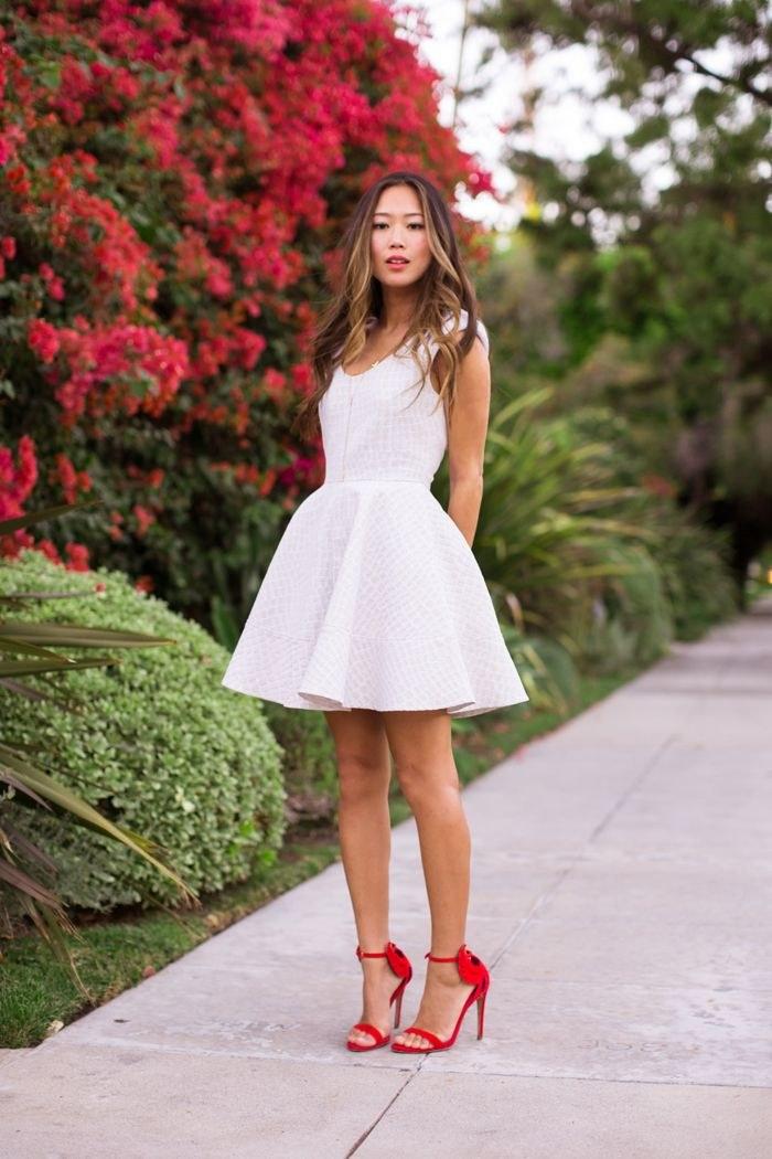 vestidos blanco valentin