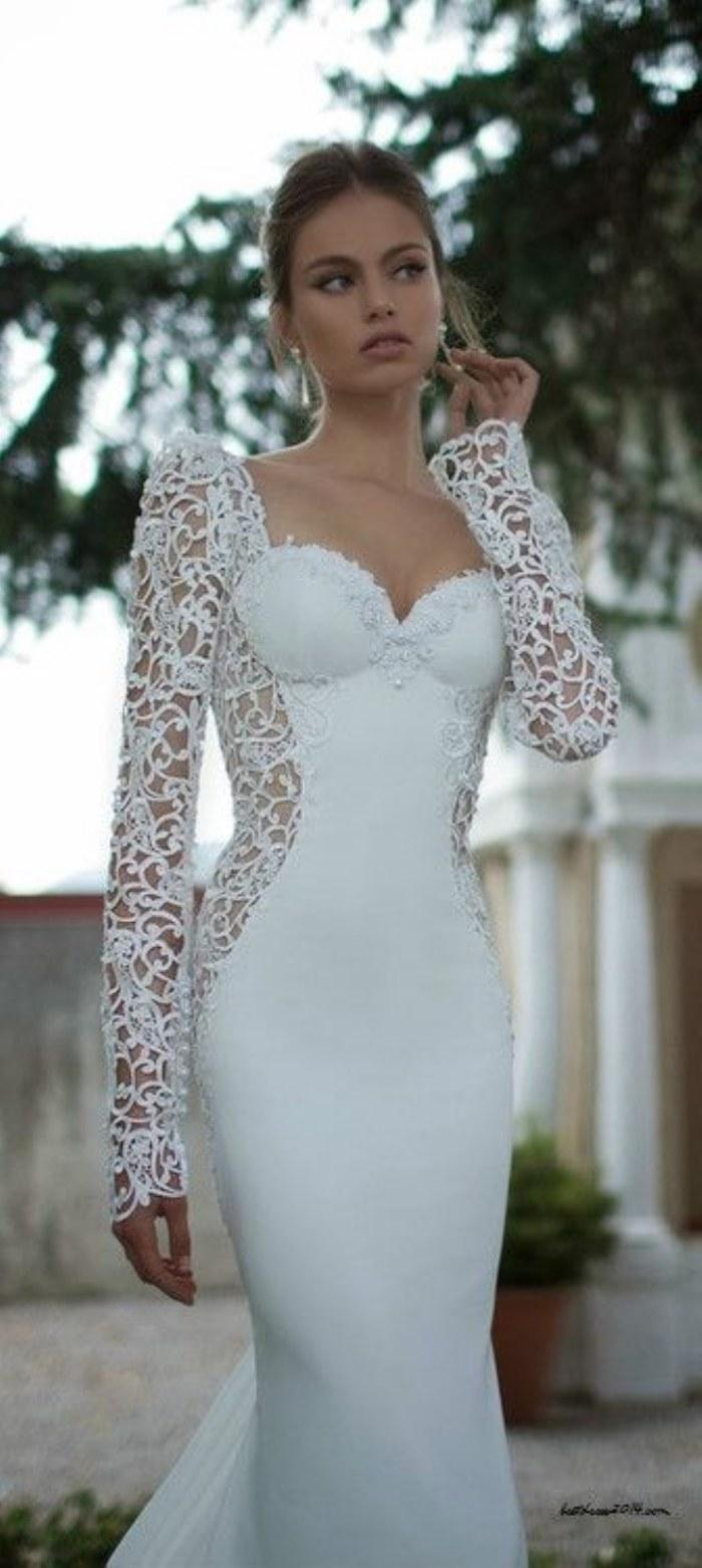 Descubre el tipo de vestido de novia que necesitas según la forma de ...