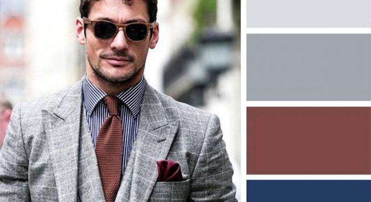 combinacion de colores ropa masculina