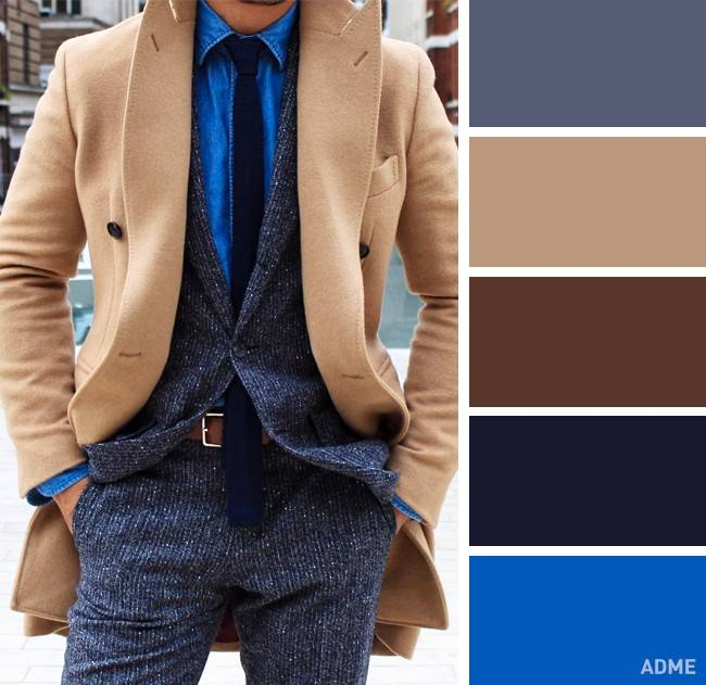 combinacion colores hombres