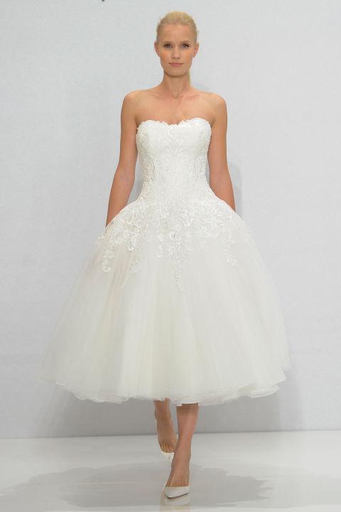 vestidos de boda cortos