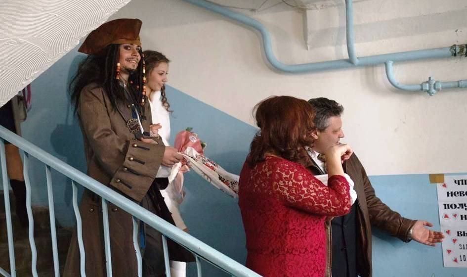 boda pirata caribe