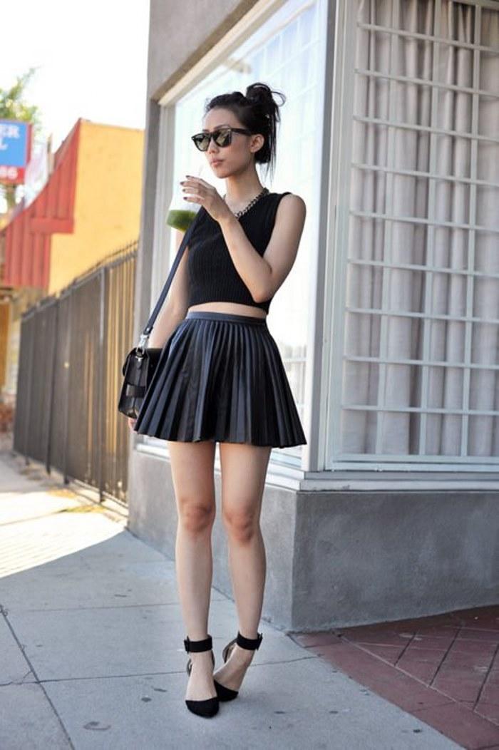Estas son las opciones más fabulosas para vestir en primavera si te encanta el color negro