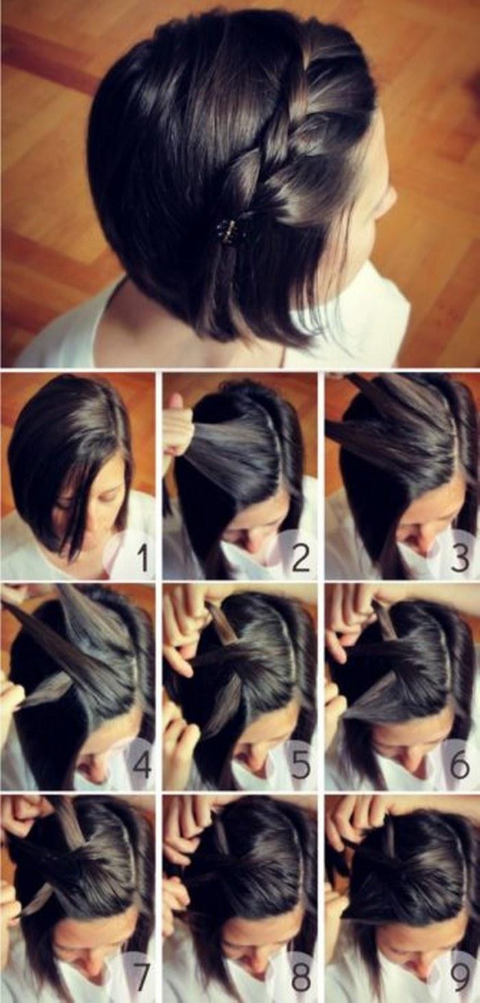 Increíbles peinados que todas las chicas con cabello corto amarán