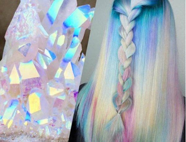 La nueva tendencia para tu cabello es de holograma