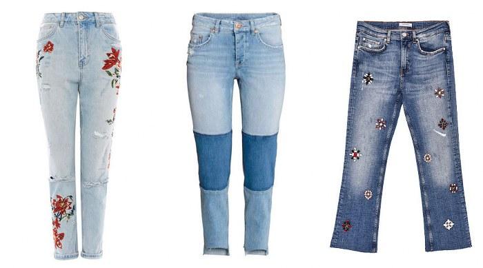 Cambia tus jeans por unos con un poco más de creatividad