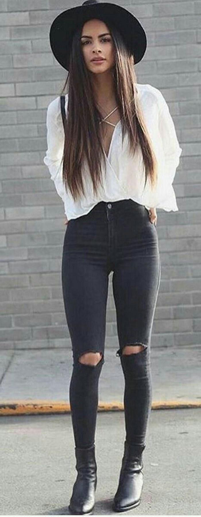 10 fotos que te ayudarán a que uses tus jeans de talle alto con mucho más estilo