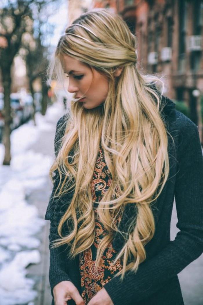 15 poderosas imágenes para dejar crecer tu cabello y que se convierta en tu mejor accesorio