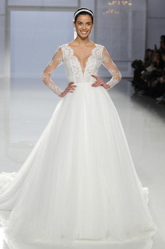 Desfile de vestidos de novia para gorditas
