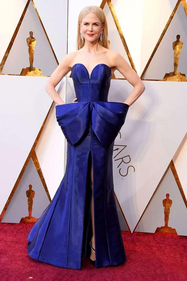 Vestidos hermosos del Oscar 2018