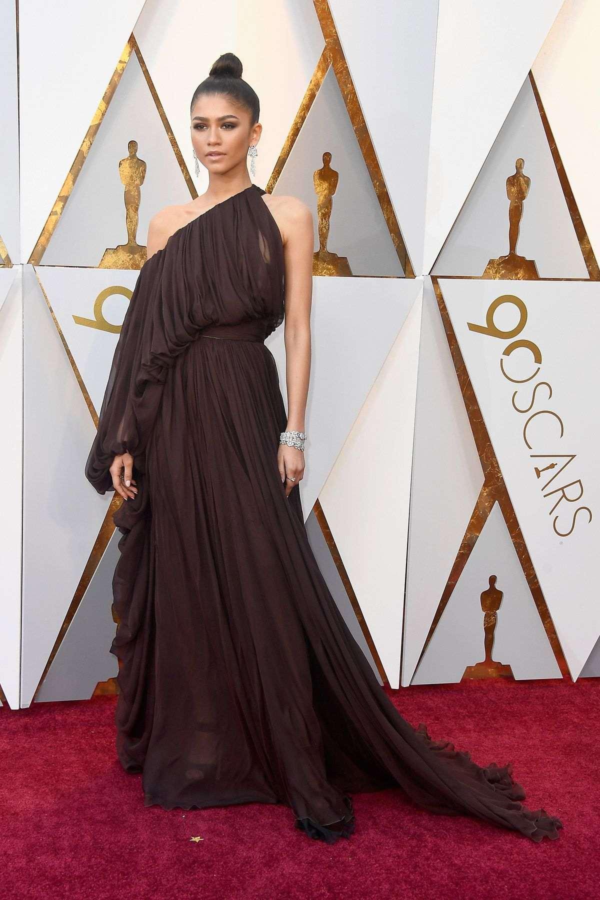 Vestidos hermosos del Oscar 2018.